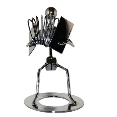 Home Office Display Stand Accessories Supplies Metal Music Ironman Accordion Player Accordionist
