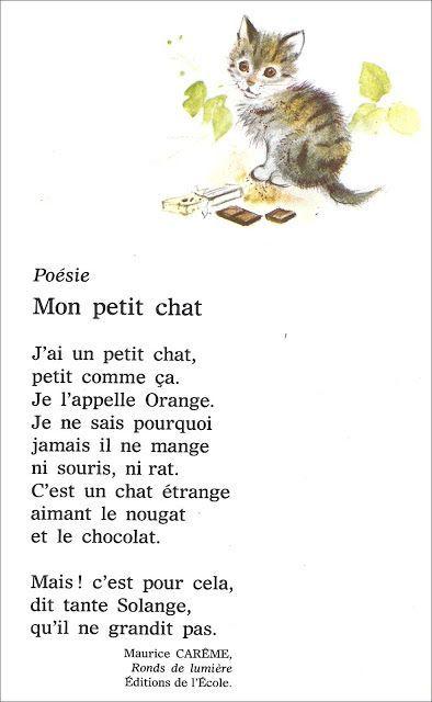 Poesie L Ecole De Maurice Careme : poesie, ecole, maurice, careme, Quotes