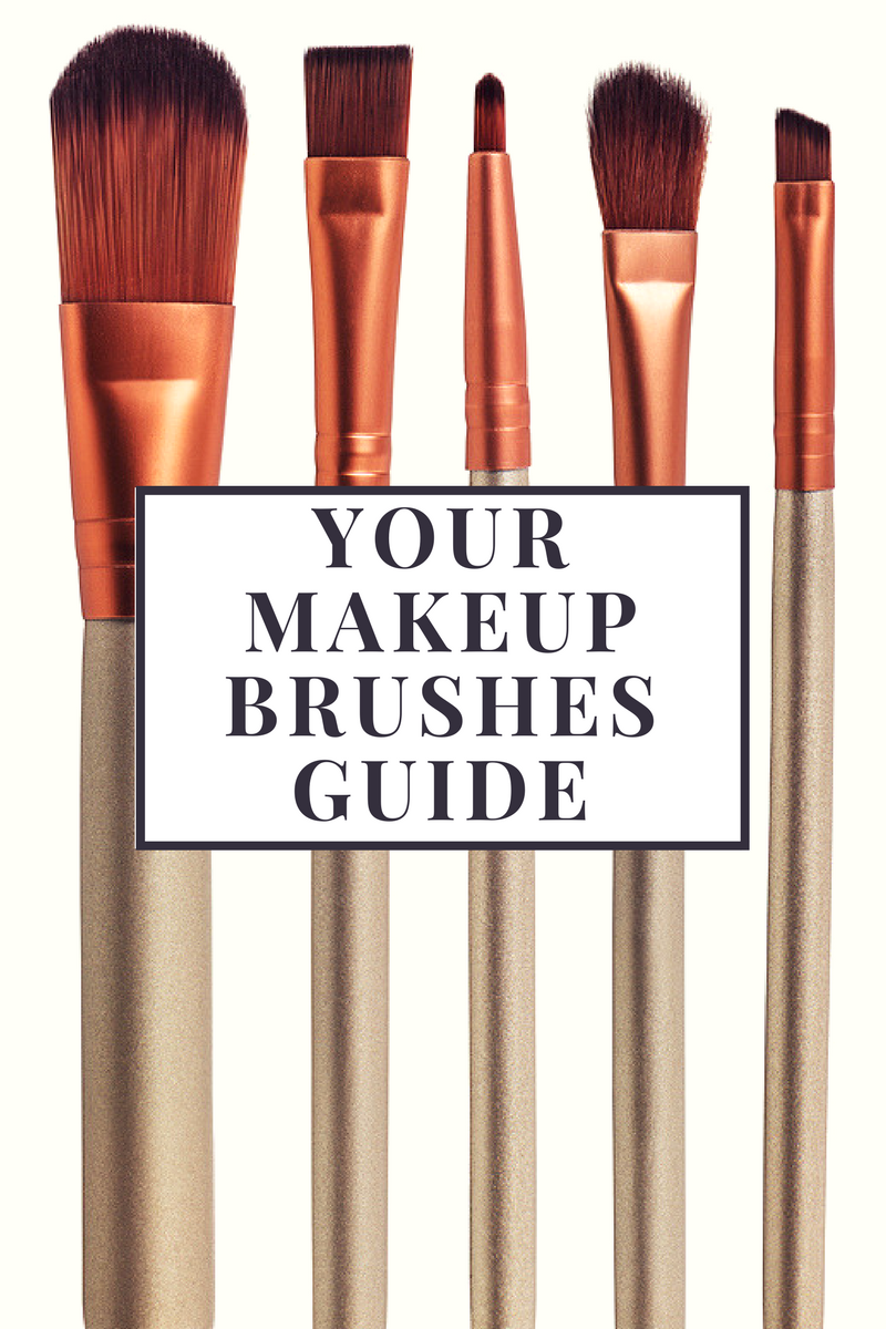 Your Makeup Brushes Guide 7 Types of Brushes and How to
