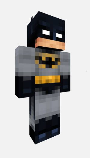 Minecraft Batman Skin! Download the Minecraft Skin of Marvel\'s ...
