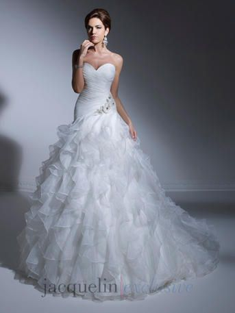 a61544225738 Jacquelin Exclusive - 19912 | FIRE and ICE❄ | Wedding gowns ...
