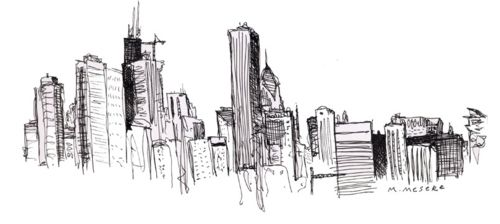 Pin by Allison Eaton on New York City Pinterest City drawing
