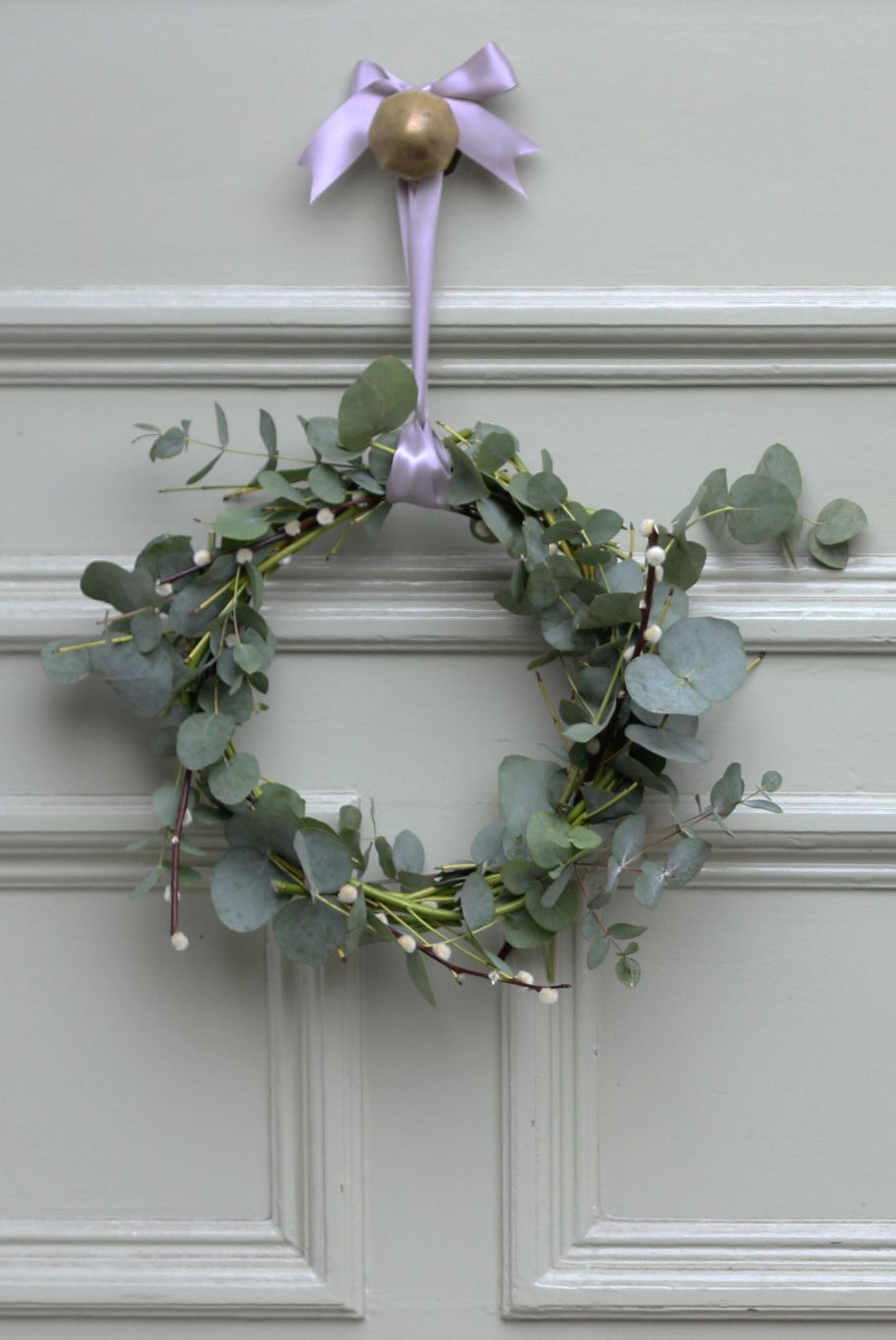 Eucalyptus and Pussy Willow wreath made by Bloom & Wild www ...