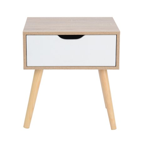 Furniture R End Table Nightstand Sofa Table With Storage Drawer