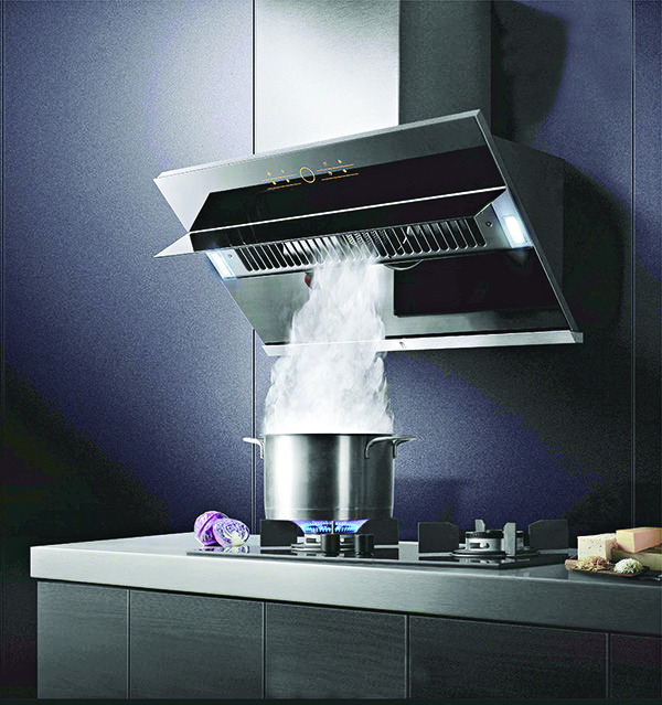 Chinese Manufacturer Fotile Designs An Exhaust Hood That Actually Exhausts Treehugger Outdoor Kitchen Design Exhaust Hood Outdoor Kitchen Appliances