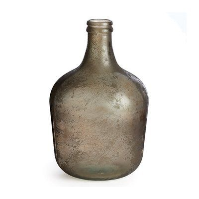 Glass Decorative Bottles Brayden Studio Glass Decorative Bottle Color Aged Earth  Products