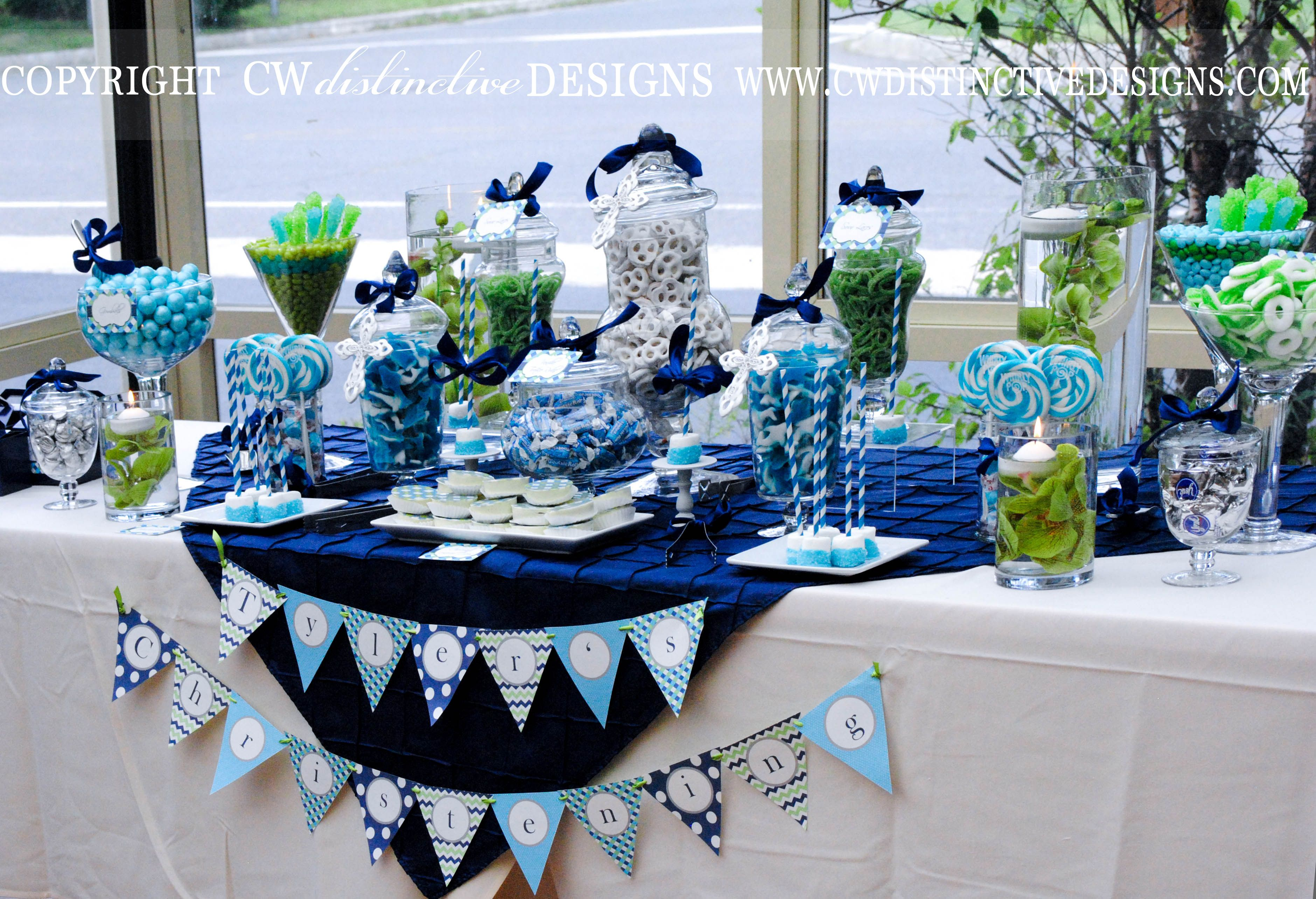 Christening Dessert Table C Christening Dessert Table Sweet Table Decorations Candy Table