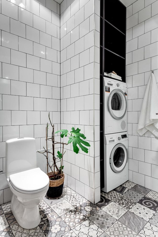Beautiful Modern House In Stockholm Sweden Vintage Laundry Room Decor Vintage Laundry Room Toilet Design