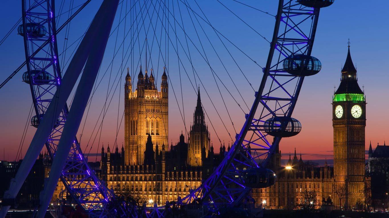 Resultado de imagen de big ben london eye inglaterra