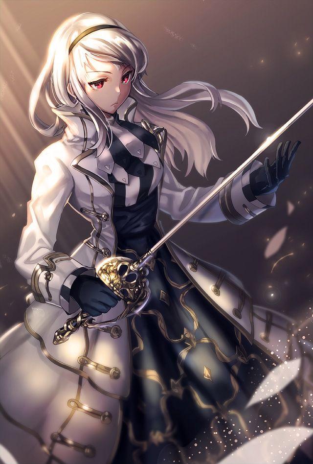 Tos Fencer Female By Kgrnet Anime Warrior Girl Anime Warrior Evil Anime