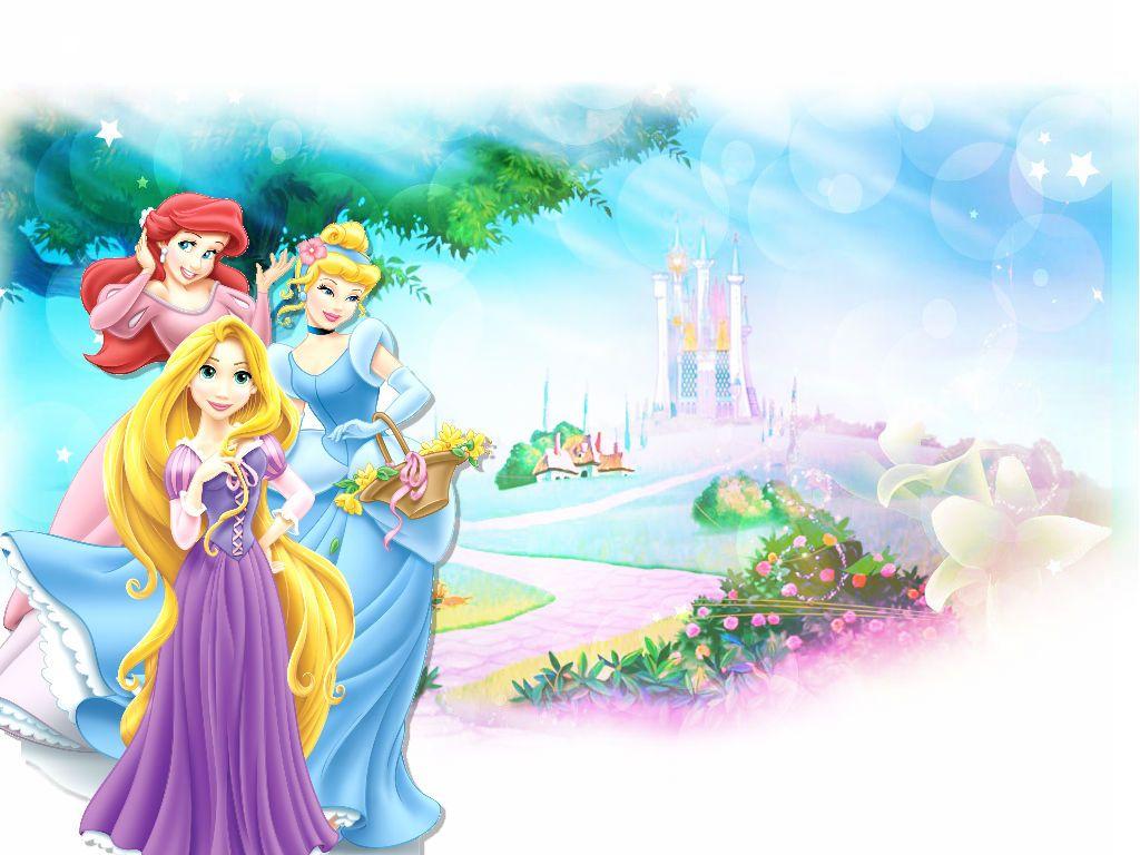 Princess Ariel Princess Cinderella Princess Rapunzel