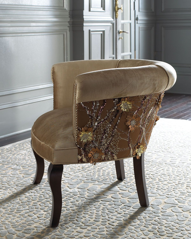 Perfect Haute House Portuguese Lace Chair   Horchow