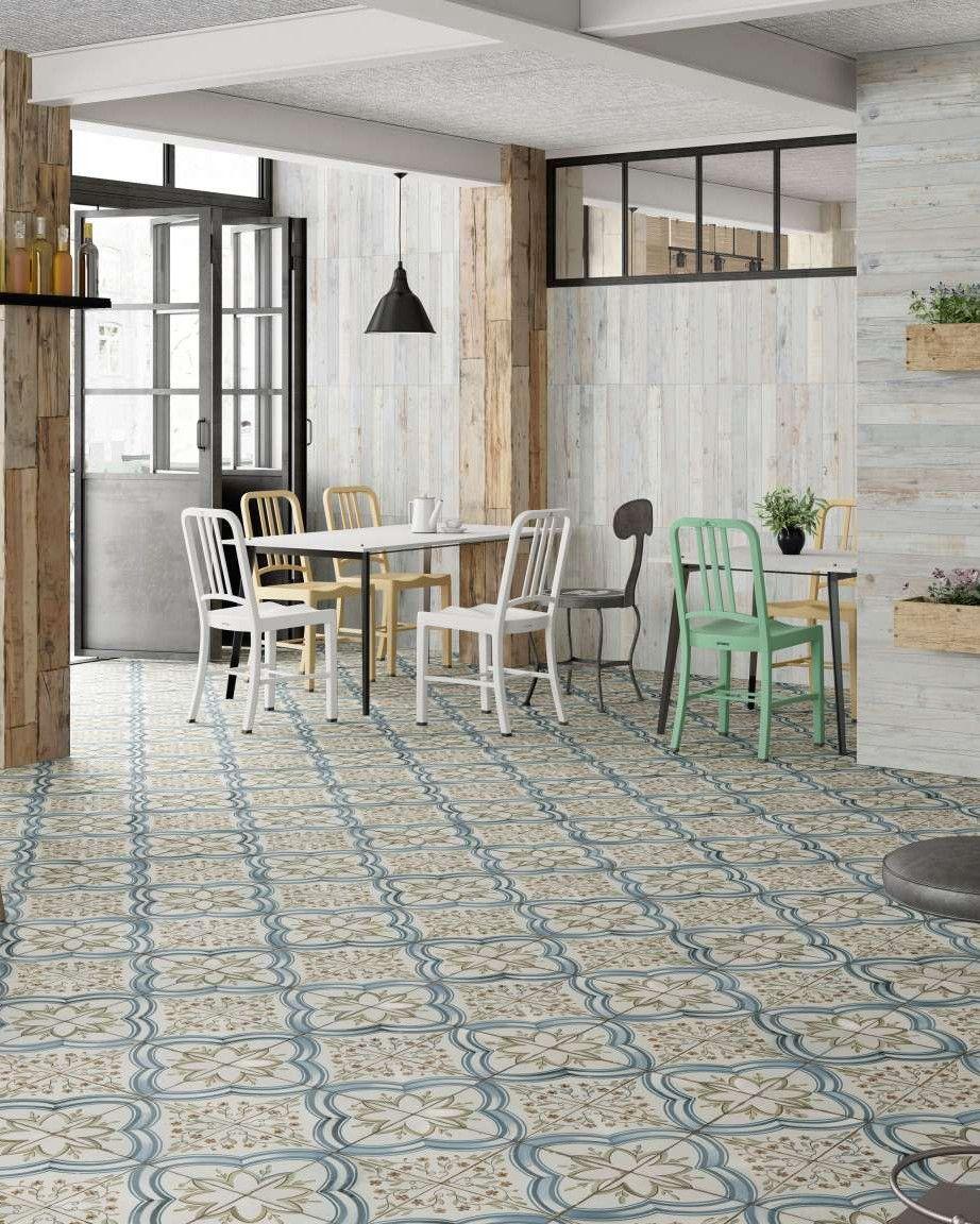 Fliesen Küche Boden Retro | Bodenfliesen Küche Modern Bilder Fliesen ...