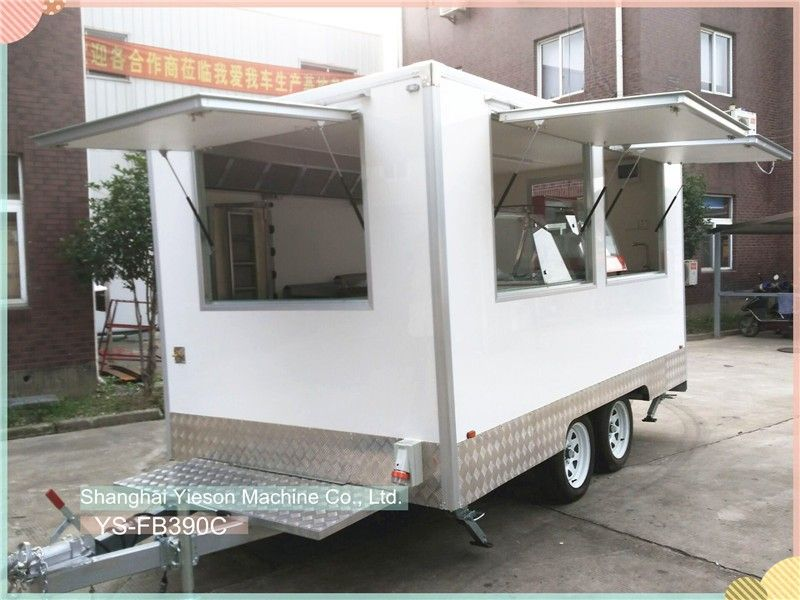 YS-FB390C Best Selling Food Truck Catering Trailers Mobile