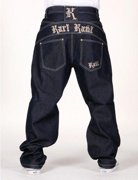 Gothic Basic Jeans Dark Blue  b2d6bfd00b4
