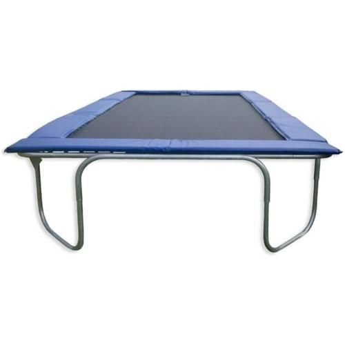 The Texas Trampoline Star Blue Long 10 X 17 Ft Rectangle