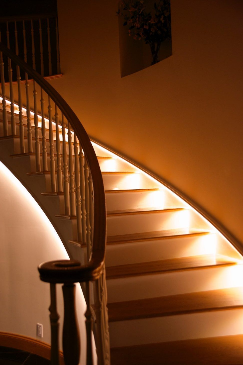Lighting Basement Washroom Stairs: Interior Design : Led Staircase Lighting Flexfire Leds