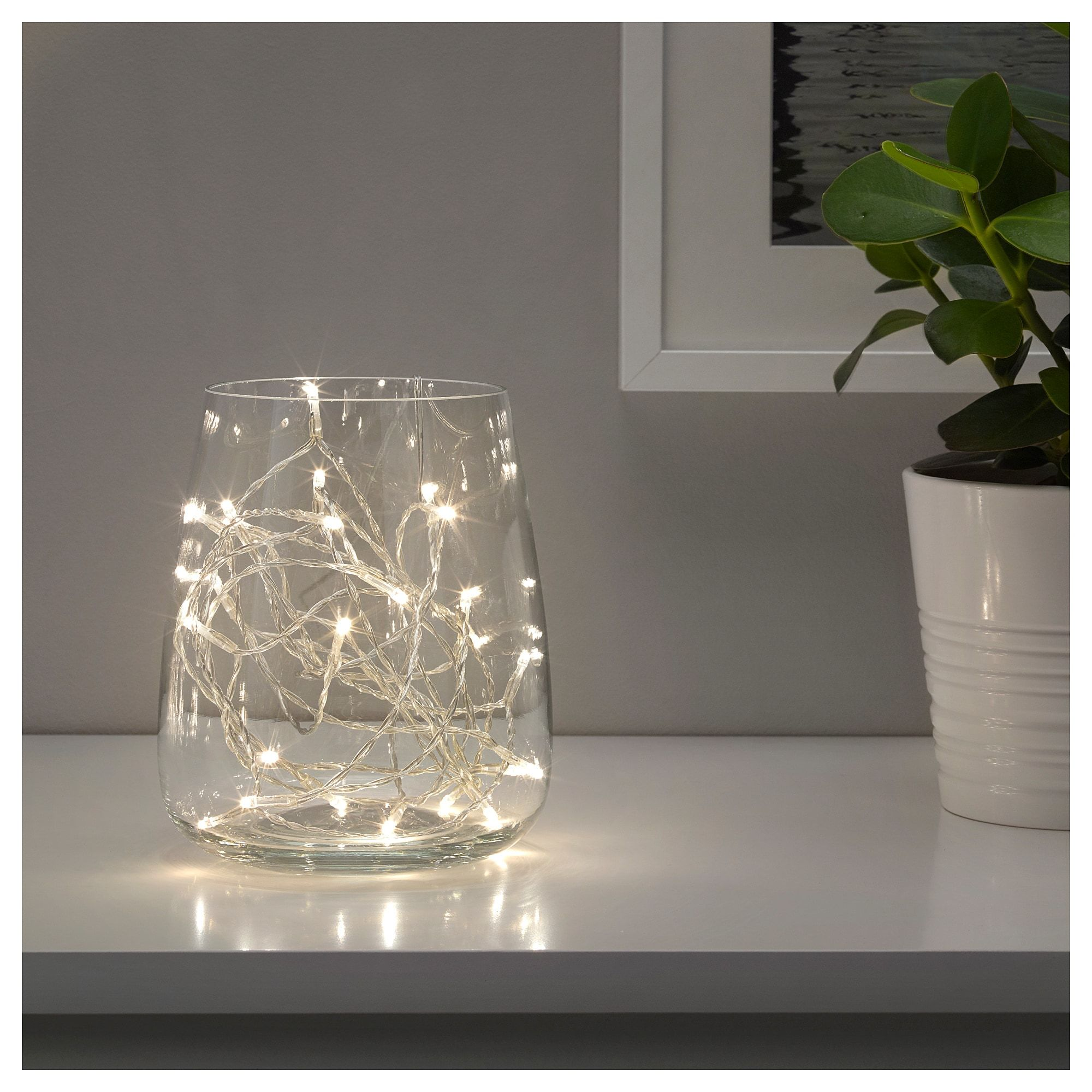 Guirlande Led Ikea Ikea Ledfyr Led String Light With 24 Lights Indoor Silver Color