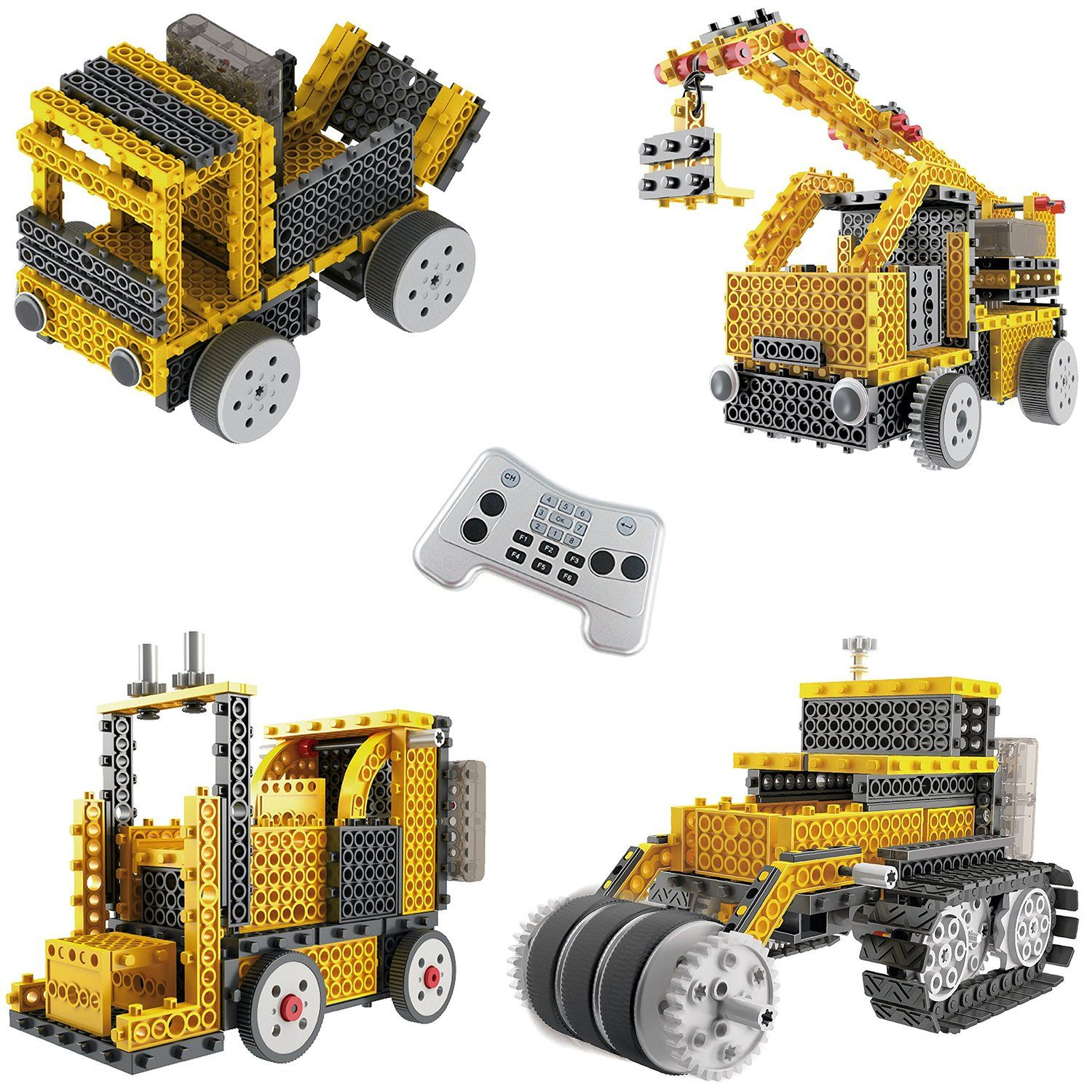 Ingenious Machines Construction Crew Robot Vehicle Building Kit