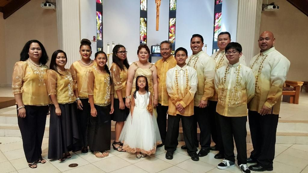 Everyone S Looking Great Celebrating A 50th Wedding Anniversary Congratulations Barongsrus Barong K Philippines Fashion Filipiniana Dress Quality Clothing