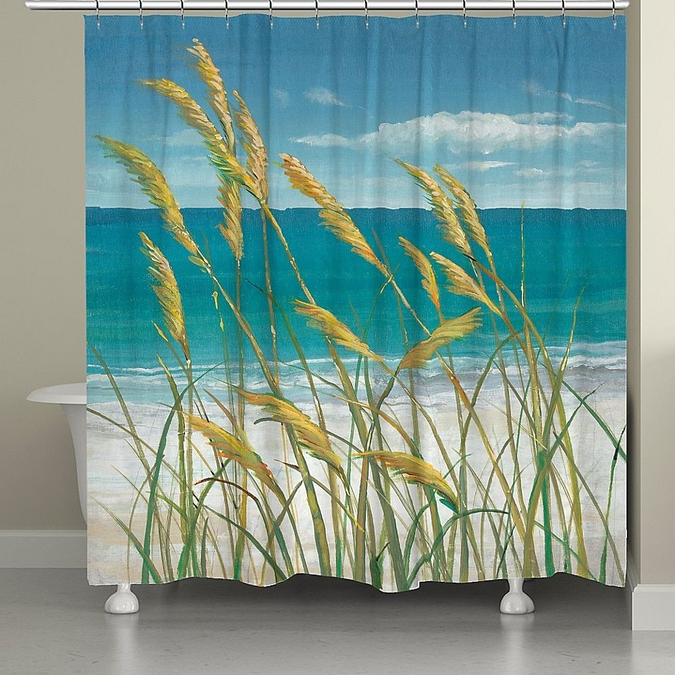 Laural Home Summer Breeze Shower Curtain Multi In 2020 Beach