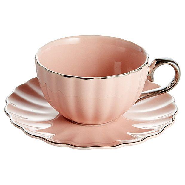 Celebrate New Bone China Tea Cup Saucer Target Australia Canecas Bule Porcelana
