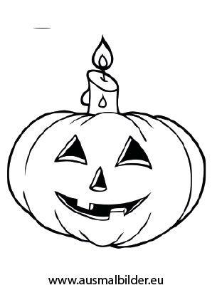 Halloween Ausmalbilder Kürbis 08 Halloween Pinterest