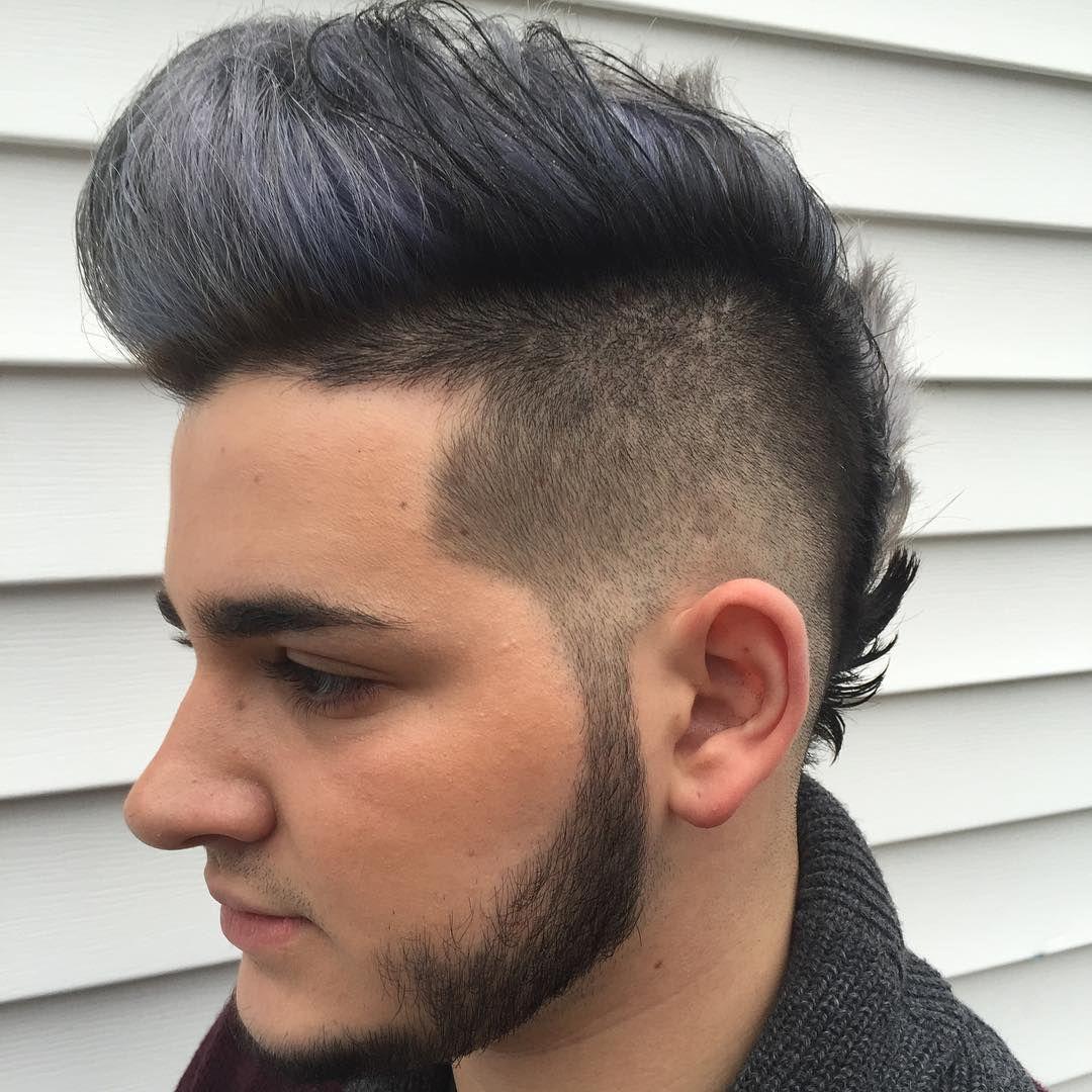 Reflection Hairdesign Long Hair Men Fohawk Fauxhawk Pomp Faux Hawk Hairstyles Long Hair Styles Men Faux Hawk