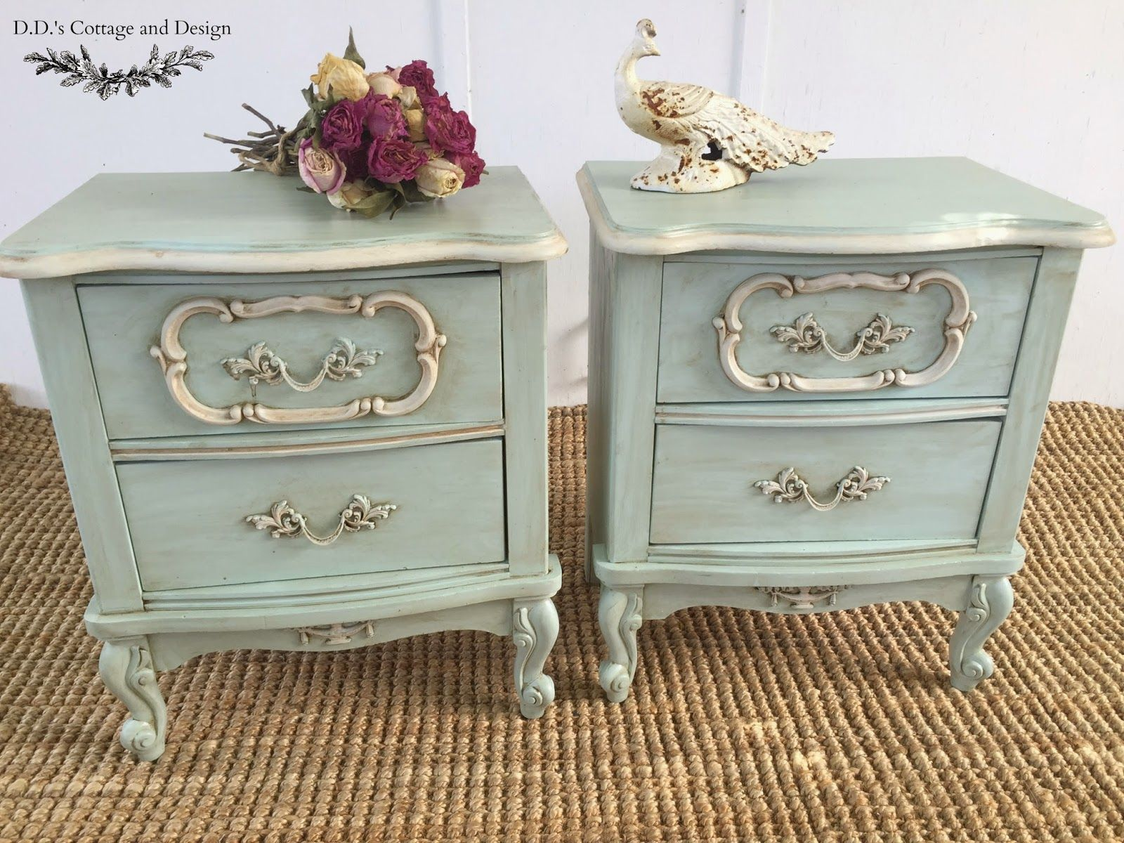 D D S Cottage And Design Pair Of French Provincial Nightstands