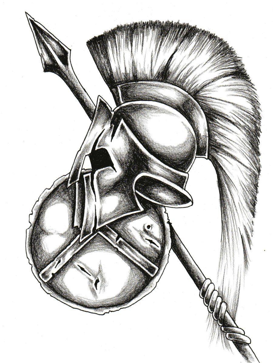 Tattoos Tatuagem Espartana Tatuagem Guerreiro Tatuagem De Gladiador