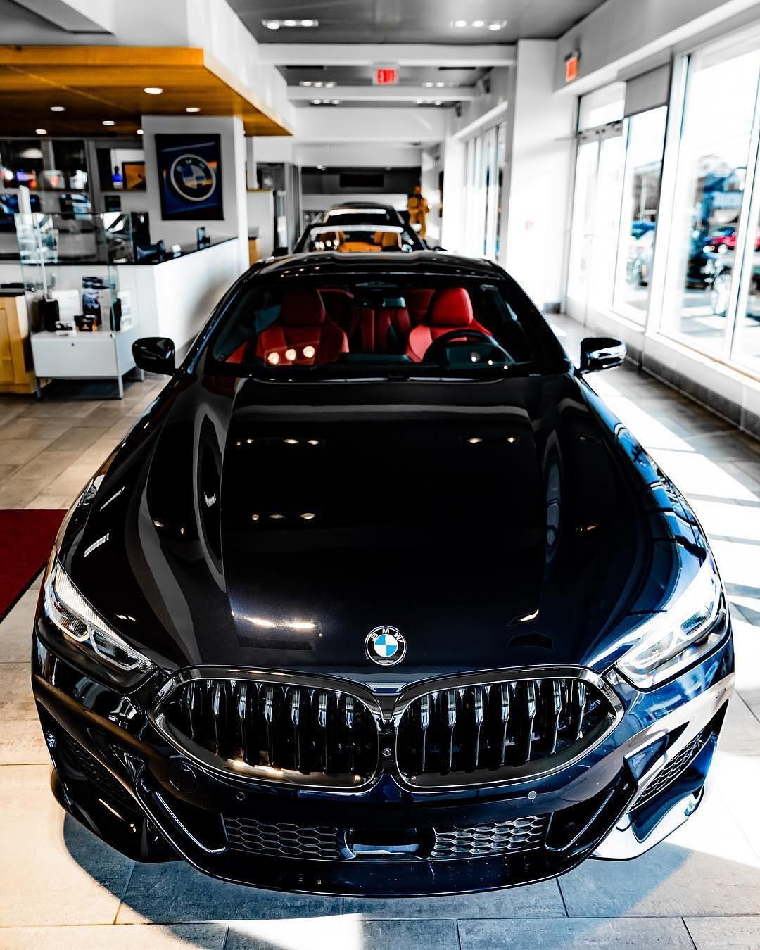 The All New M850i Sapphire Black V8 Twinpower Turbo 530 Hp Torque