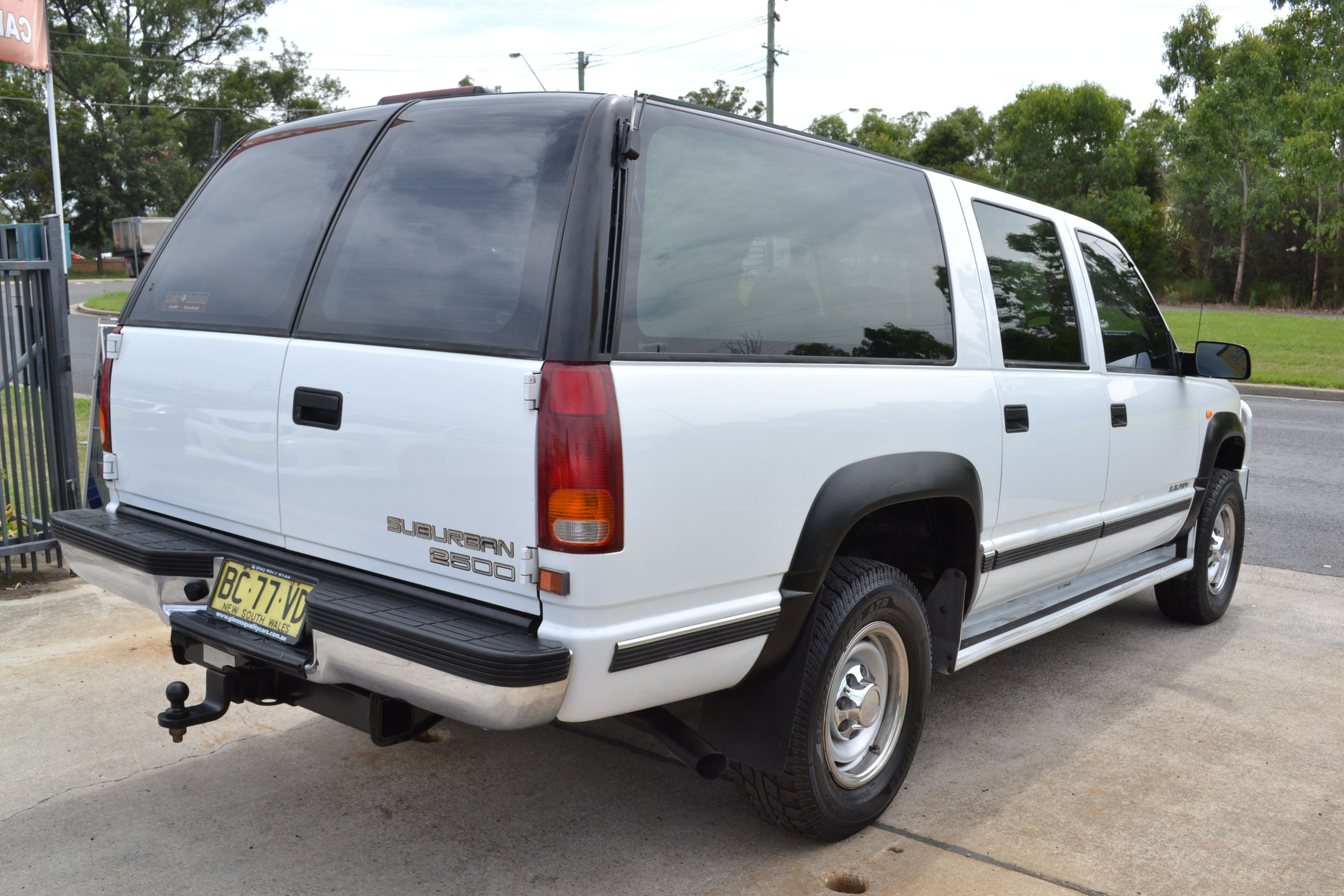1998 Holden Suburban 2500 4x4 K8 Turbo Diesel 4 Speed Automatic