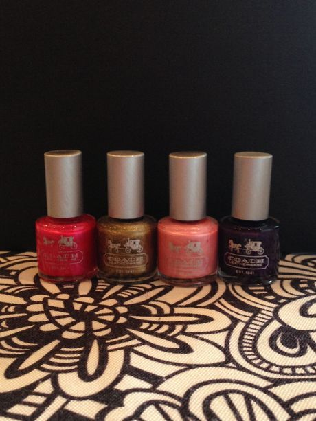 Available Trendtrunk Set Of 4 Coach Nail Polishes By Coach