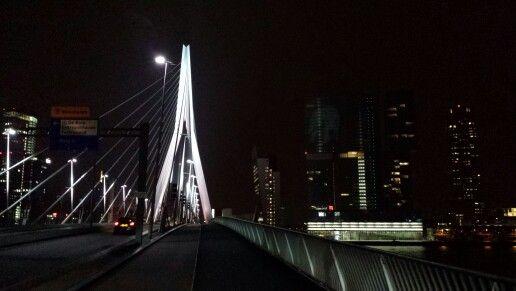 Erasmus bridge Rotterdam the Netherlands.