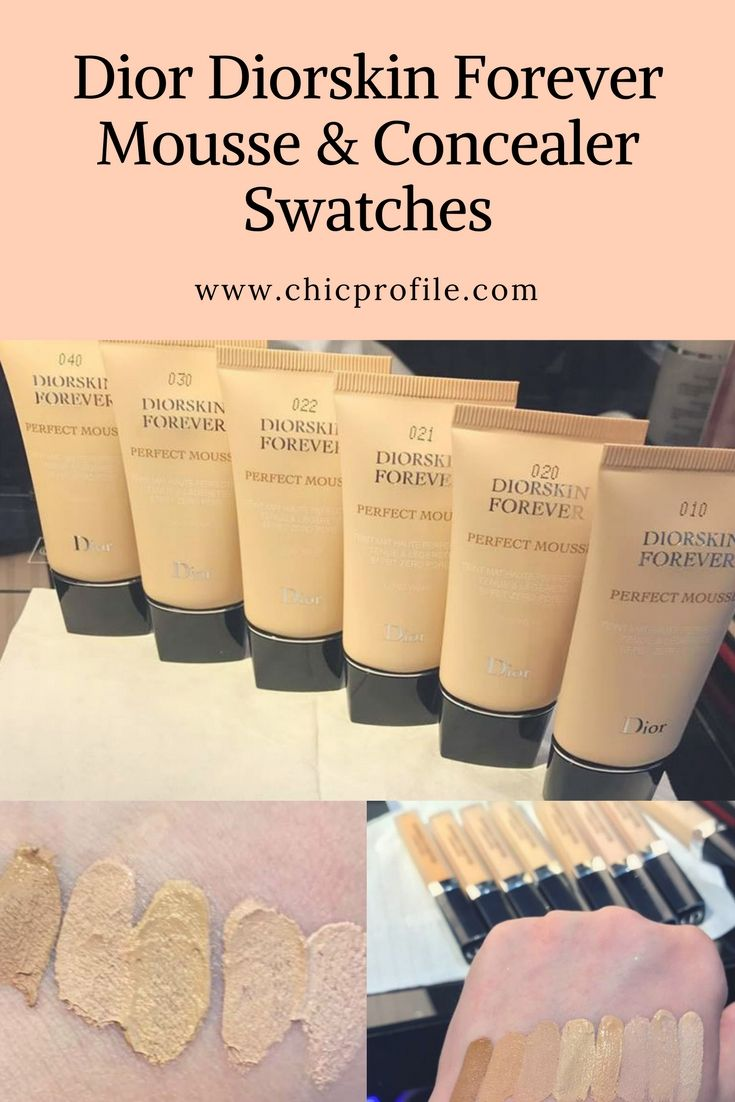 c5a40bbdc5 Dior Diorskin Forever Perfect Mousse and Undercover Concealer ...