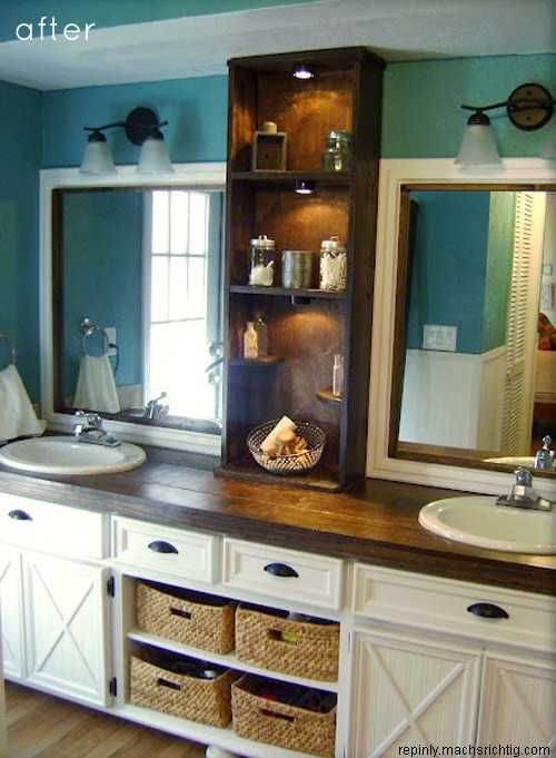 So many smart budget friendly decisions in this b - Budget friendly bathroom remodel ...