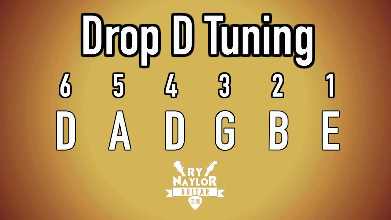 Drop d guitar tuning notes guitar tuning guitar tuners