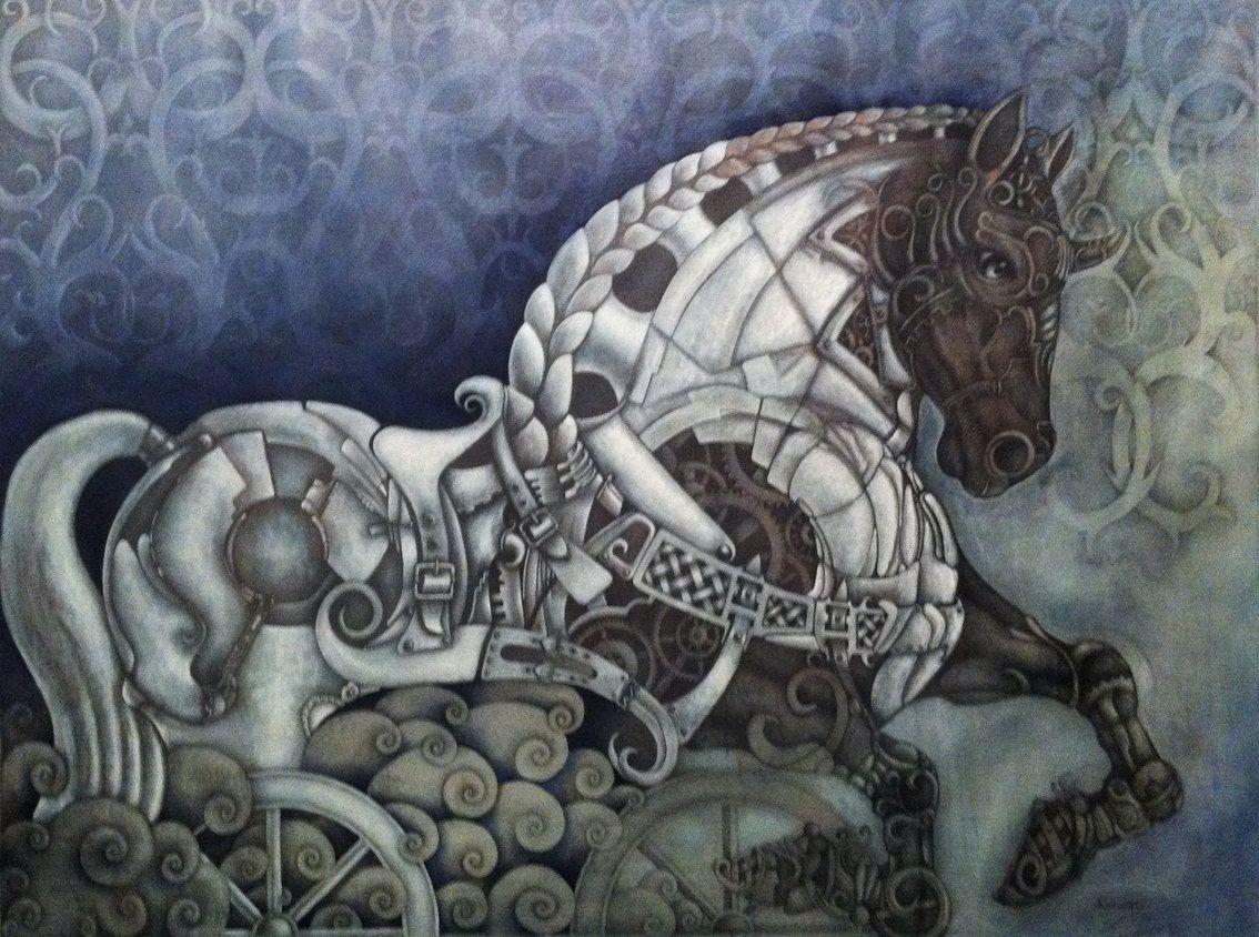 Caballo De Troya Trojan Horse 9 000 00 Via Etsy Caballo De