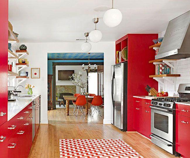 Ideas para darle color y alegría a la cocina | Ideas de decoracion ...
