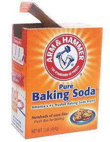 Baking soda tegen onkruid