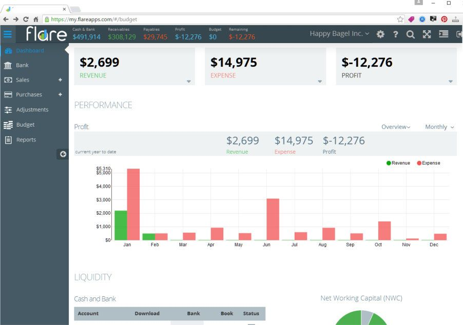 Expense tracking couldn\u0027t be easier With Flare\u0027s online expense
