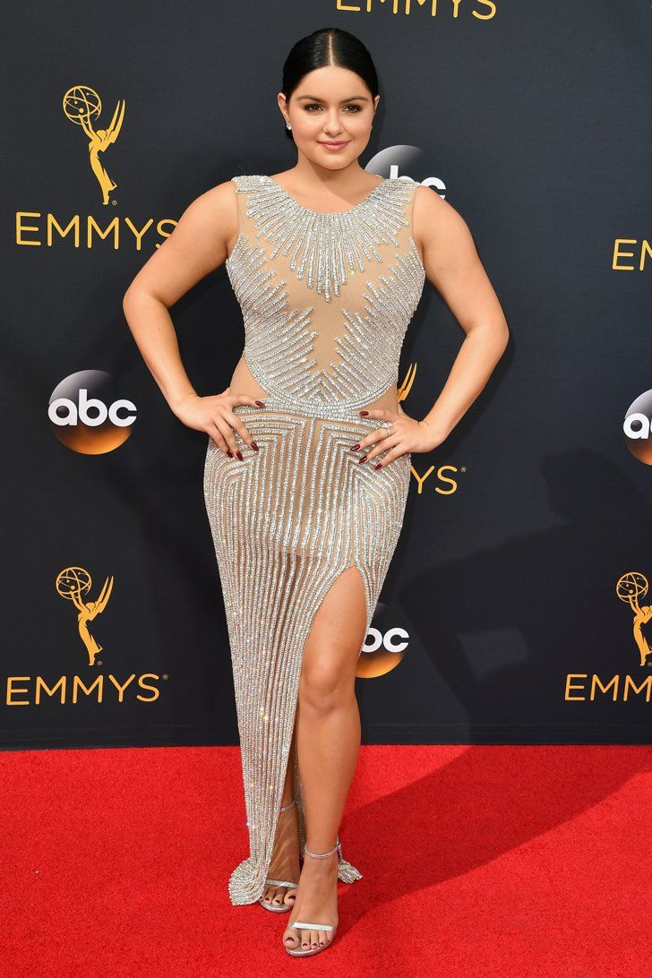 The dress ariel wore - Ariel Wore A Yousef Aljasmi Dress To The 2016 Emmys