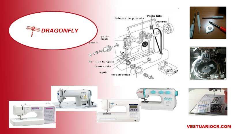 Maquina de coser Dragonfly | Manuales de servicio, reparación ...