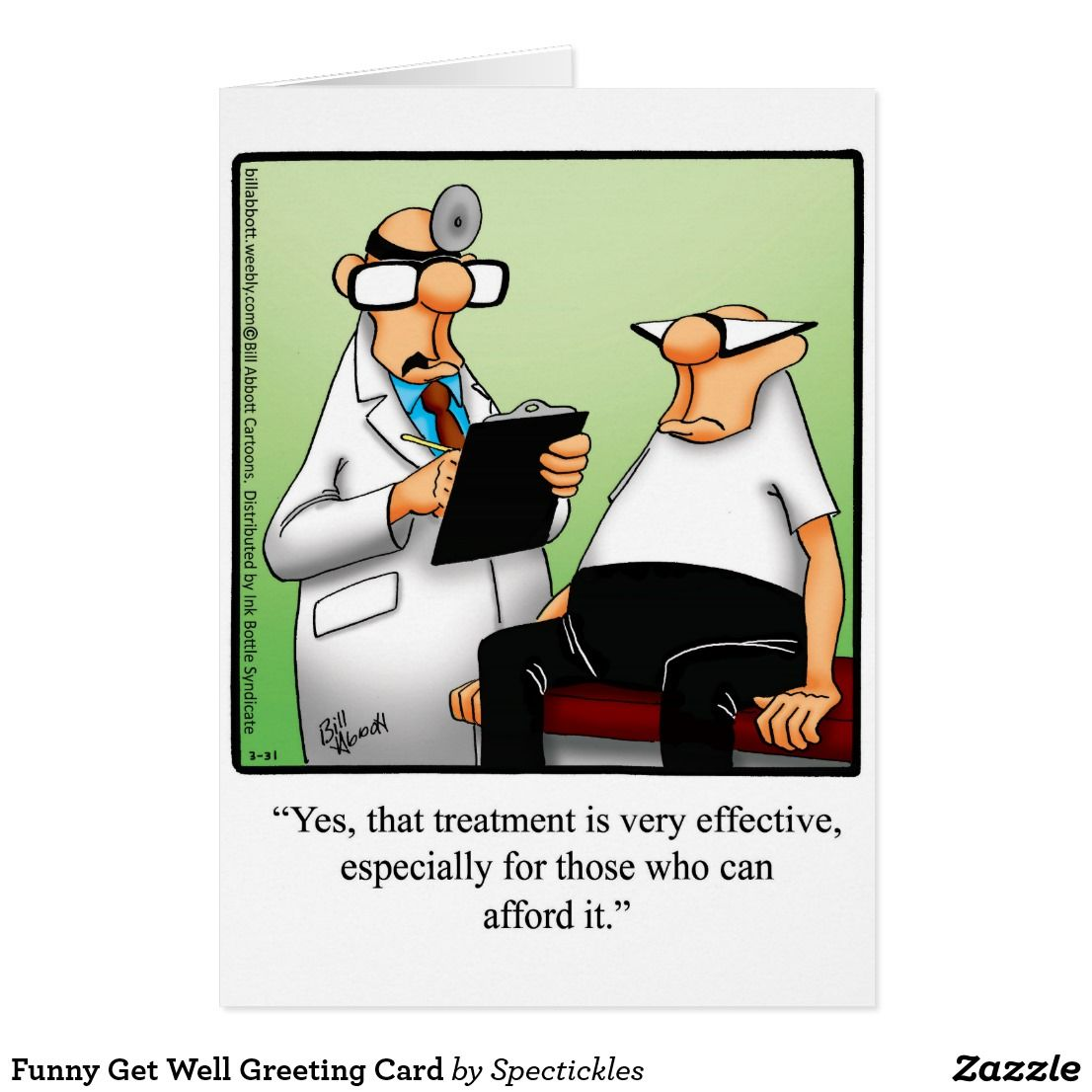 Funny get well greeting card funny greeting cards pinterest funny get well greeting card kristyandbryce Choice Image