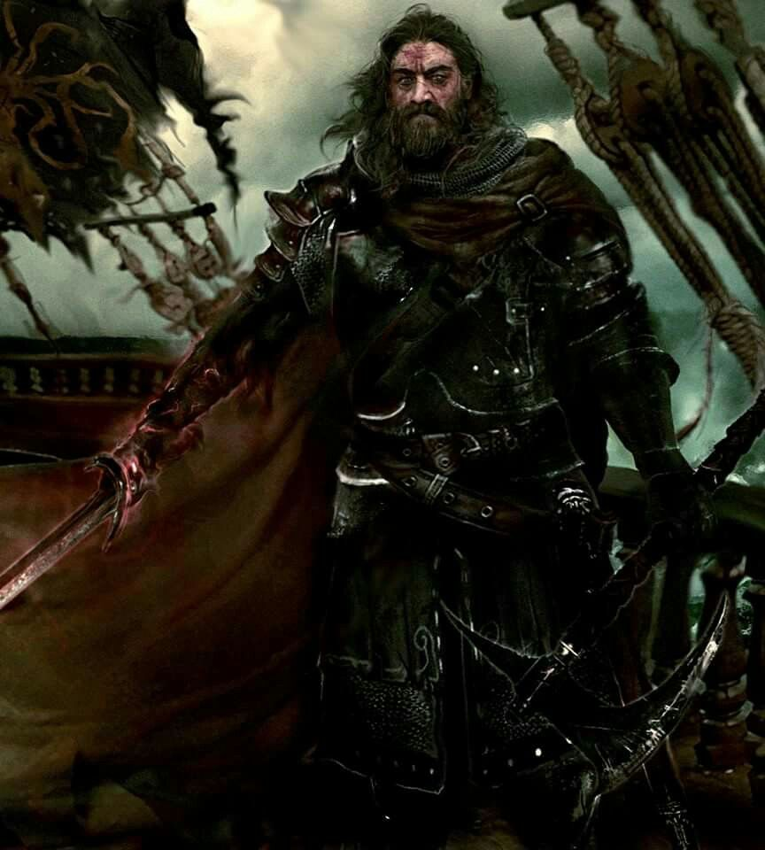 Warriors Fire And Ice Book: Lord Captain Victarion Greyjoy By Mike Hallstein