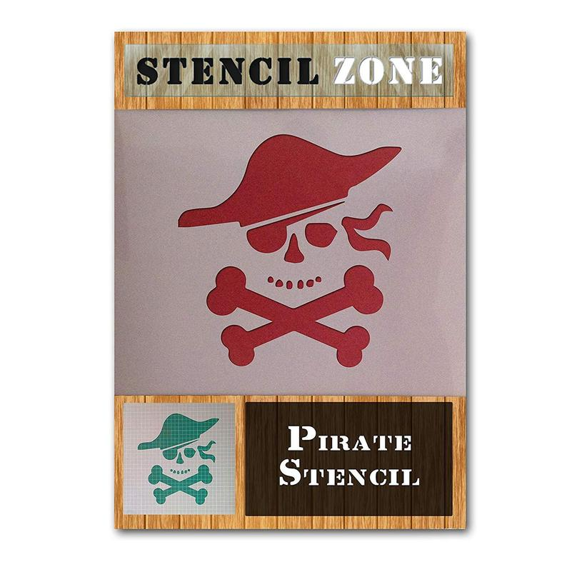 Pirate Sea Ship Boat Ocean Mylar Airbrush Painting Wall Art Crafts Stencil 2
