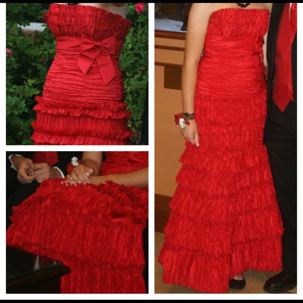 Just reduced gorgeous red prom dress products