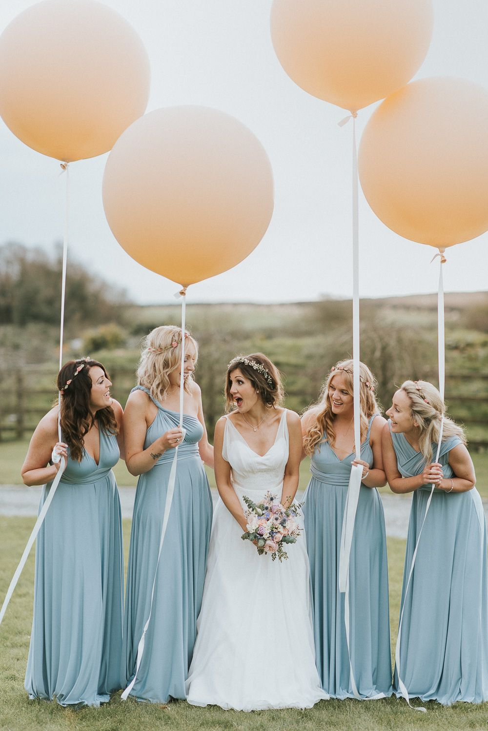 Clementine by naomi neoh tipi wedding in cornwall multiway baby blue multiway bridesmaids dresses by coralie beatrix photography by nick walker ombrellifo Image collections