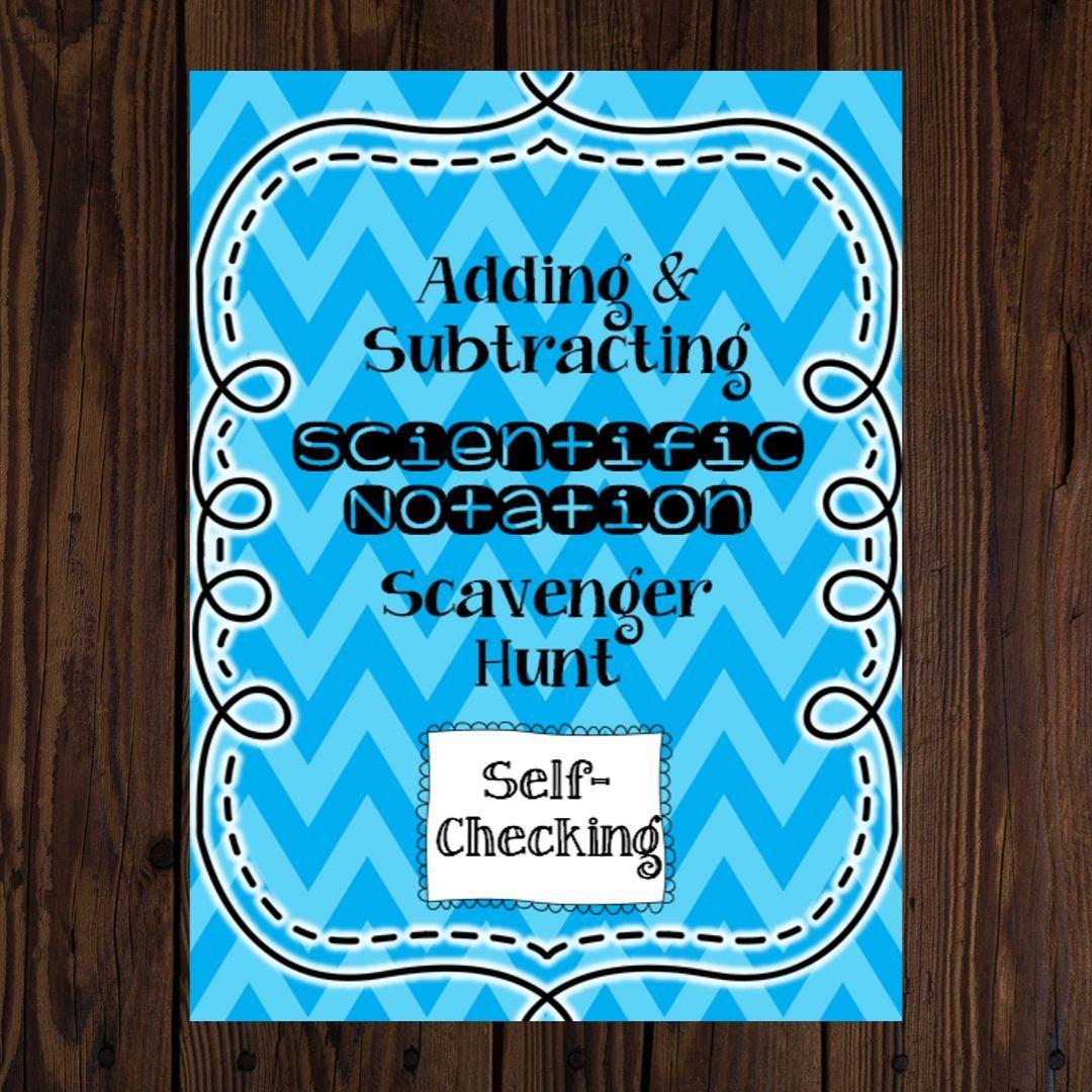 Adding Subtracting Scientific Notation Scientific Notation Adding And Subtracting Subtraction Scientific notation addition and