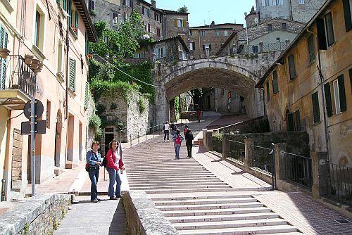 Perugia, via dell'Acquedotto